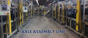 Axle Assembly Line from Pyxis Technologies LLC