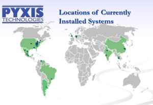 Pyxis Project Locations